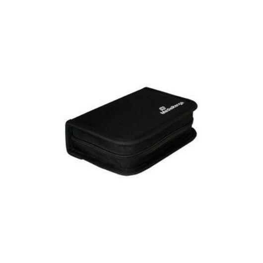 Mediarange tároló tok 6 USB-hez, fekete - BOX98