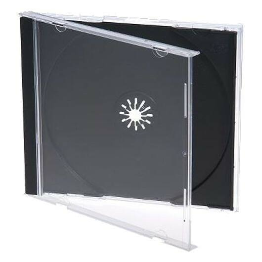 1 CD-Tok Normál 10.4mm Black Tray Mediarange (HQ) - BOX_22_M