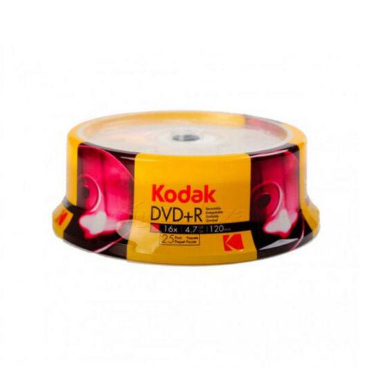 Kodak DVD+R 16x 4,7GB Full Print Cake 25 - K1330325