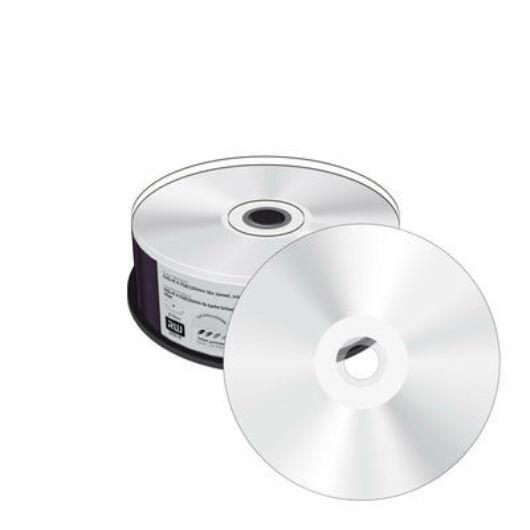 MediaRange DVD+R 16X Tintasugarasan Nyomtatható, Ezüst Felületű Lemez Cake (25) - MR416