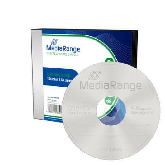 MediaRange DVD-RW 4X Slim tokban (5) - MR448