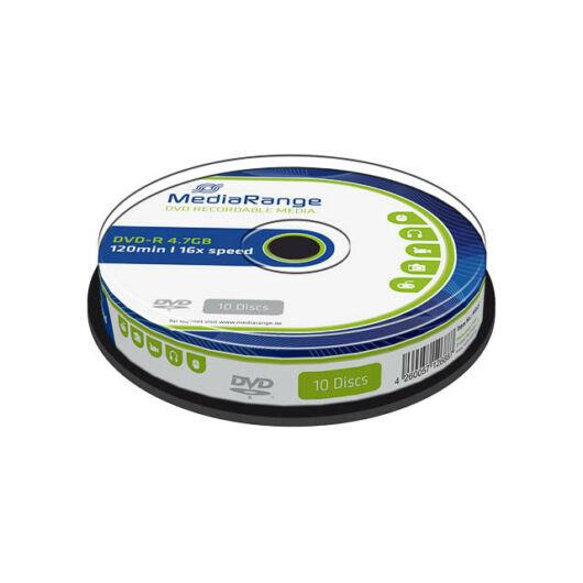 MediaRange DVD-R 16X Lemez Cake (10) - MR452