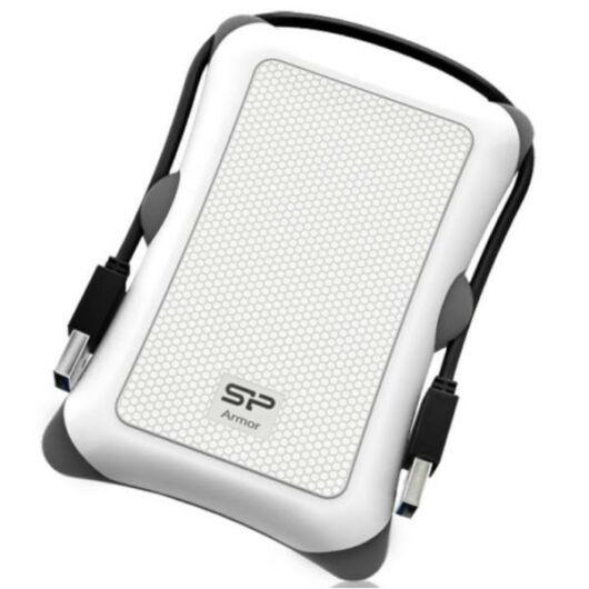 Silicon Power külső merevlemez Armor A30 2.5'' 2TB USB 3.0. Fehér - SP020TBPHDA30S3W