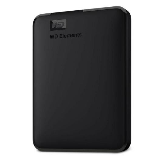 Western Digital Elements 1TB HDD Külső Merevlemez 3.0 - fekete - WDBUZG0010BBK-WESN