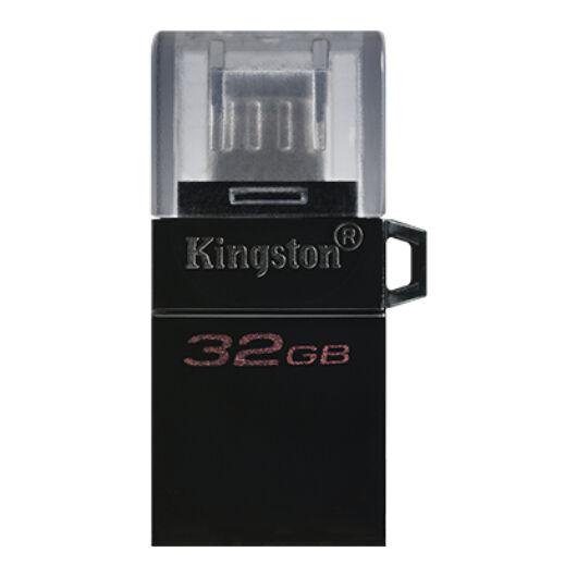 Kingston Dt Microduo OTG 32GB Pendrive USB 3.0 + Micro USB - Android Telefonokhoz, Tabletekhez (DTDUO3/32GB) - DTDUO3_32GB