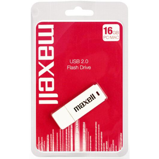 Maxell 16GB Pendrive USB 2.0 - White - 854748_00_GB