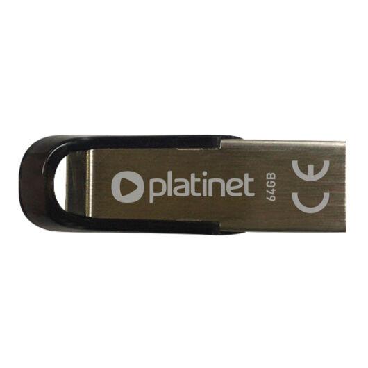 Platinet S-Depo 64GB Pendrive USB 2.0 - Fém