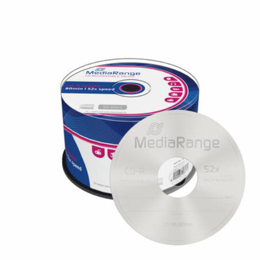 Mediarange CD-R Lemez - Cake (50) - MR207