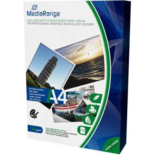Mediarange MRINK111- Paper A4 Ink Dual-Matt 140 g,(100) - MRINK111