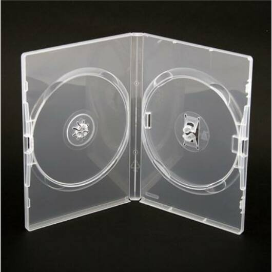 Amaray DVD Tok Dupla 14mm Clear - AMA02325KA