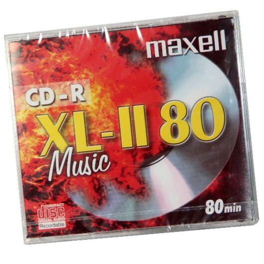 Maxell CD-R 52X Audio Lemez - Normál Tokban (1) - 624880_40