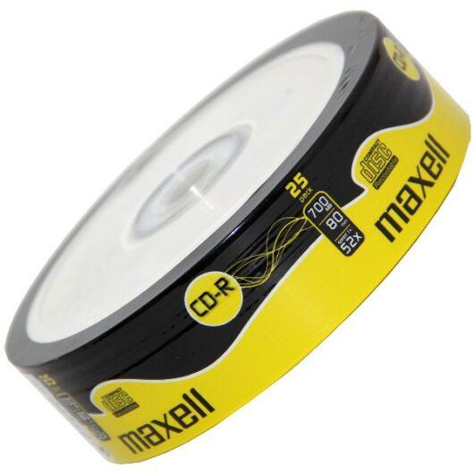 Maxell CD-R 52X Lemez - Shrink (25) - 624035_40