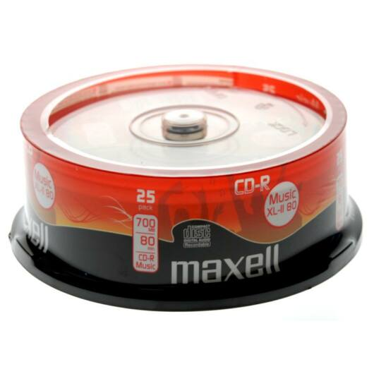 Maxell CD-R 52X Audio Lemez - Cake (25) - 628529_40