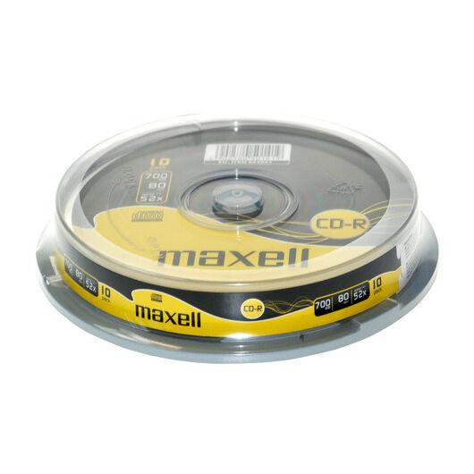 Maxell CD-R 52X Lemez - Cake (10) - 624027_40