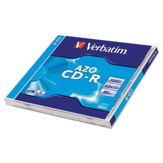 Verbatim CD-R 52X Lemez, Crystal Azo Réteg - Normál Tokban (1) - 43327
