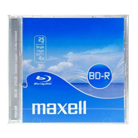 Maxell BD-R 25 gB 4X Blu-Ray Lemez - Normál Tokban (1) - 631012_00