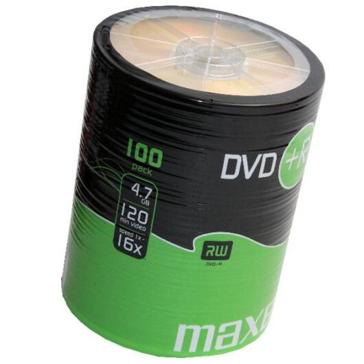 Maxell DVD+R 16X Lemez - Shrink (100) - 275737_40