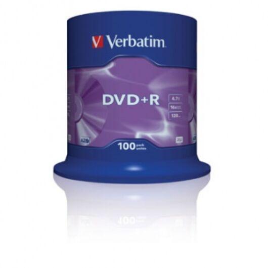Verbatim DVD+R 16X Lemez - Cake (100) - 43551