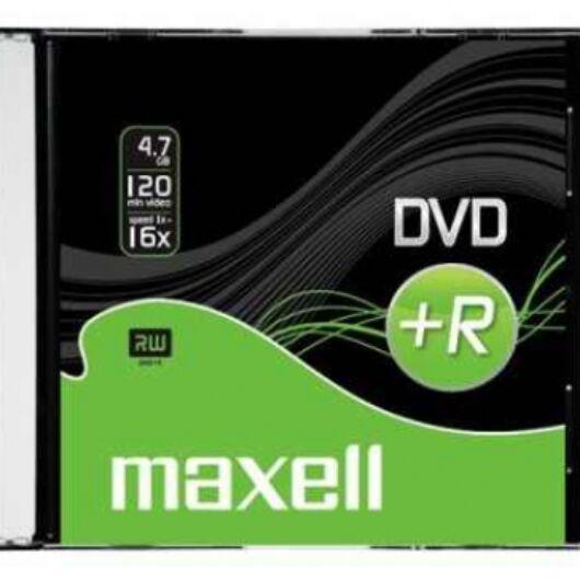 Maxell DVD+R 16X Lemez - Slim Tokban (1)