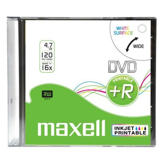 Maxell DVD+R 16X Nyomtatható Lemez, Slim Tokban - D1385