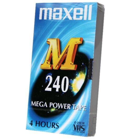 Maxell Vhs Kazetta M-240 - D113