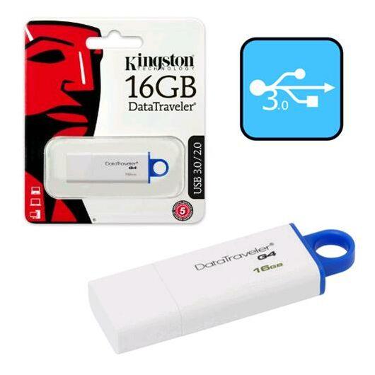 Kingston DataTraveler G4 16GB Pendrive USB 3.0 - Kék (DTIG4/16GB) - DTIG4_16GB
