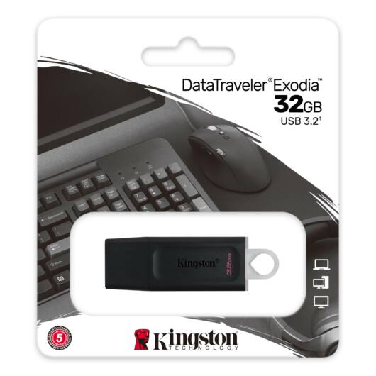 Kingston DataTraveler Exodia 32GB Pendrive USB3.2 Gen 1 (DTX/32GB)