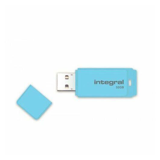 Integral 32GB Pendrive USB 2.0 - Pastel Blue - INFD32GBPASBLS