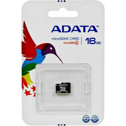Adata 16GB Micro SDHC Memóriakártya Class 4 (AUSDH16GCL4-R) - AUSDH16GCL4_R