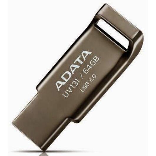 Adata UV131 Dashdrive 64GB Pendrive USB 3.0 - Chromium Szürke (AUV131-64G-RGY) - AUV131_64G_RGY