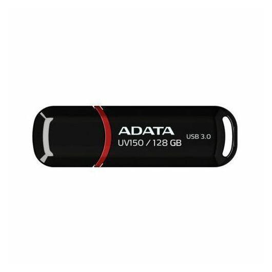 Adata UV150 Slim 128GB Pendrive USB 3.0 - Fekete (AUV150-128G-RBK) - AUV150_128G_RBK