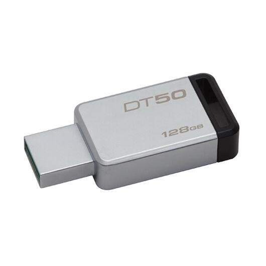 Kingston Dt50 128GB Pendrive USB 3.0 - Fekete (DT50/128GB) - DT50_128GB