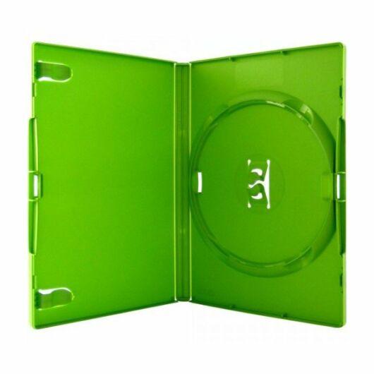 DVD-Box 14mm Single Green Amaray - AMA02342KA