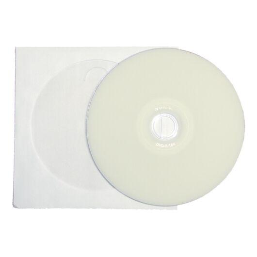 Verbatim DVD+R 16X Teljes Felületén Nyomtatható Lemez - Papírtokban (10) - 43651_P