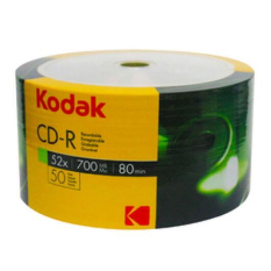 Kodak CD-R 52X 700Mb Teljes Felületén Nyomtatható Lemez - Shrink (50) - K1230150