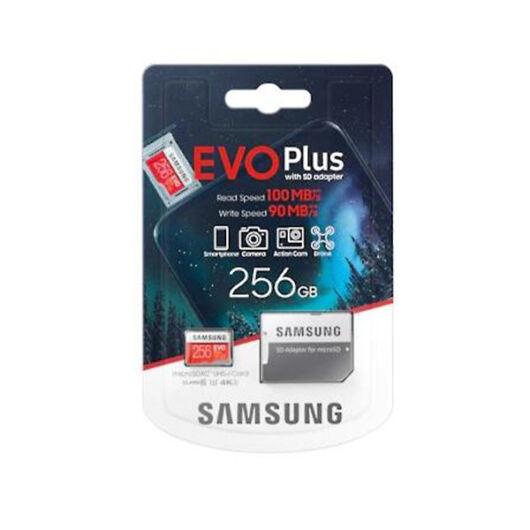 Samsung micro SDXC  256GB Samsung EVO Plus + SD adapter