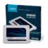 Kép 1/5 - CRUCIAL MX500 Belső SSD 500GB SATA3 Ezüst