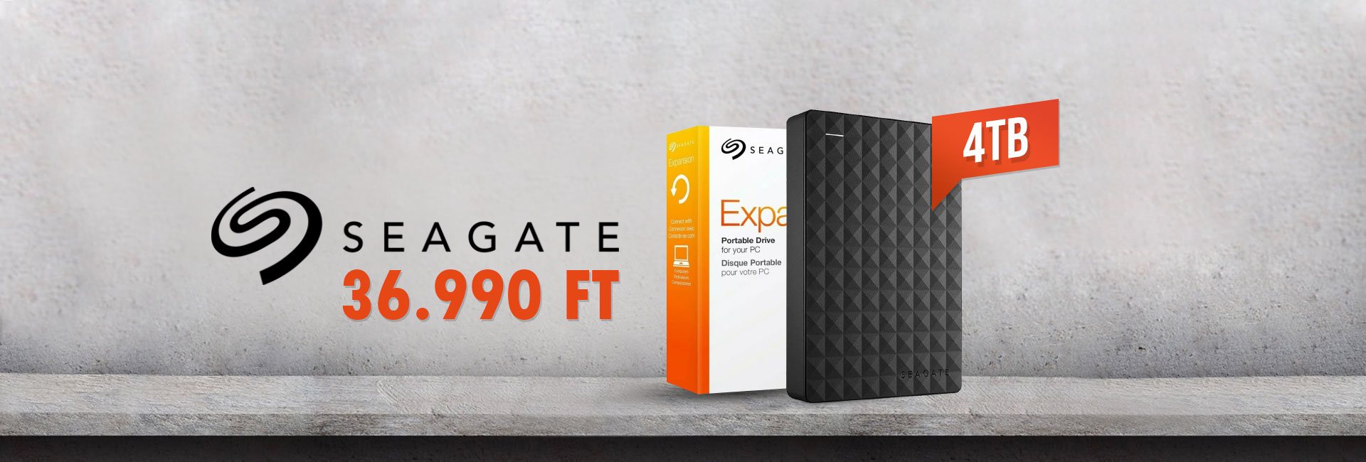 Seagate Expansion Port 4TB