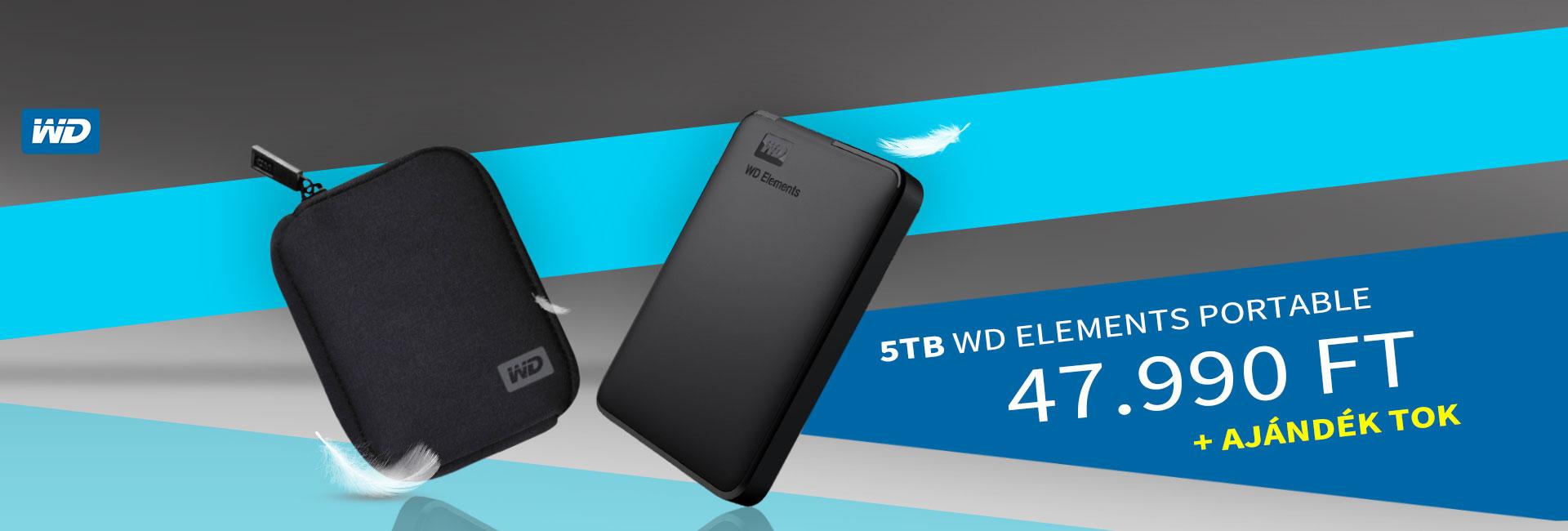 Western Digital Elements Portable 5TB
